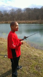 Fishing at Camp