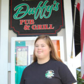 Grace Mehan at Duffy's Pub and Grill