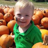 Liam and Pumpkins