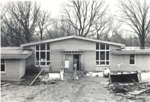 Construction began on housing