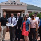 Check Presentation from Bentley St. Louis